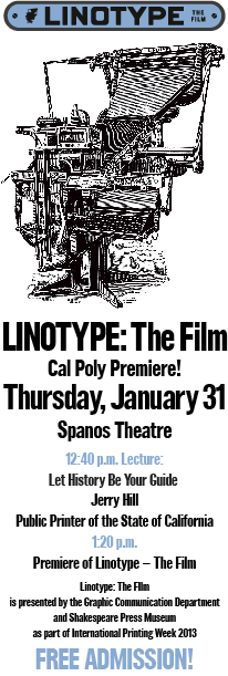 Linotype Poster