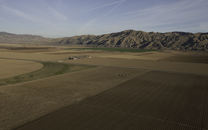 Cuyama Valley aerial
