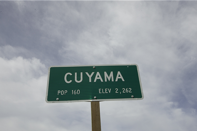 Cuyama sign
