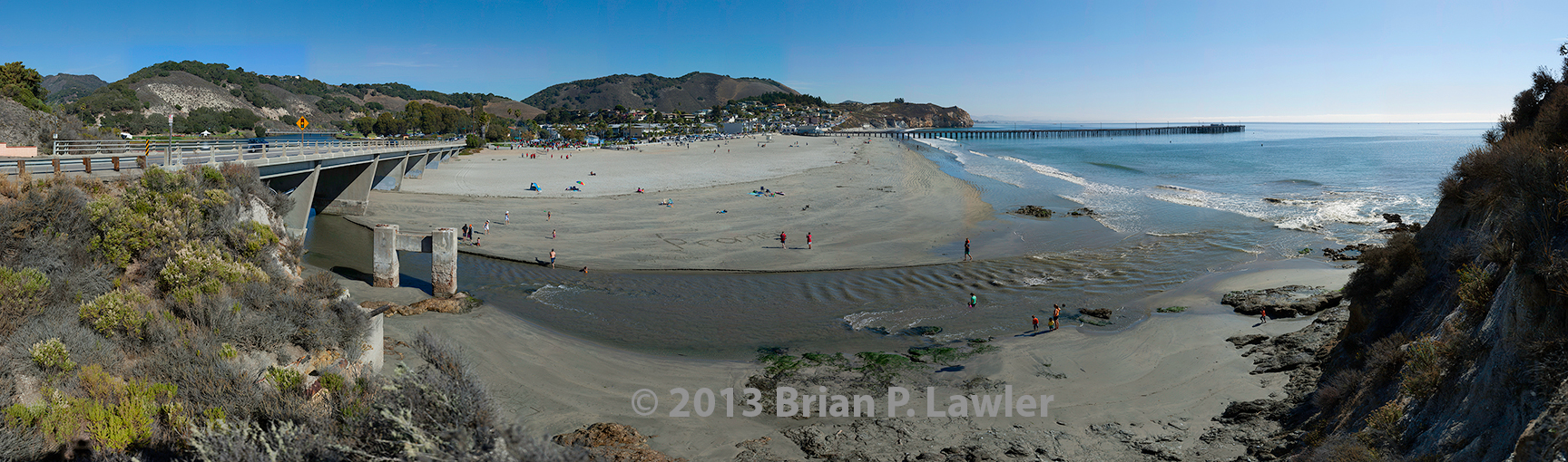 Avila Beach Panorama LR