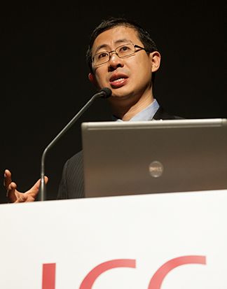 William Li at podium