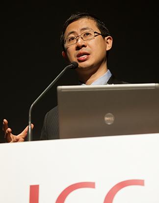 William Li at podium