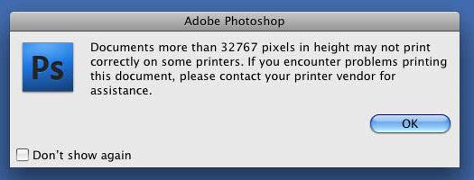 32,767 pixel limit