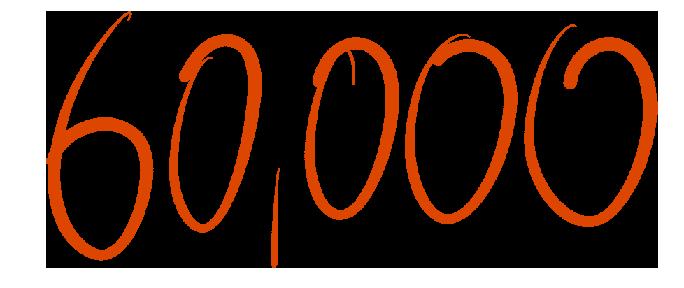 60000 number