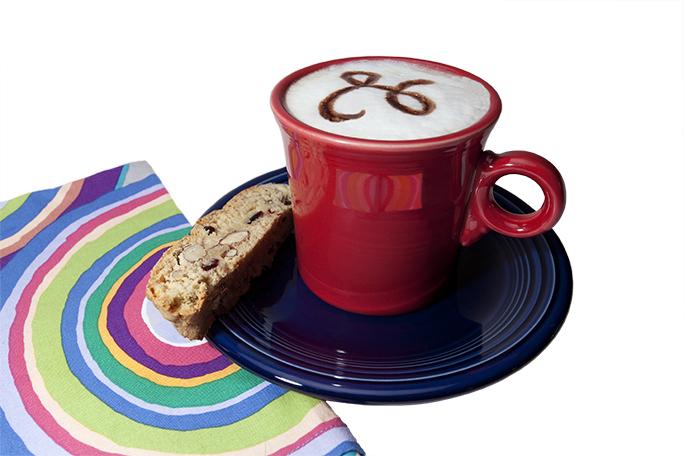 Coffee with biscotti no BG