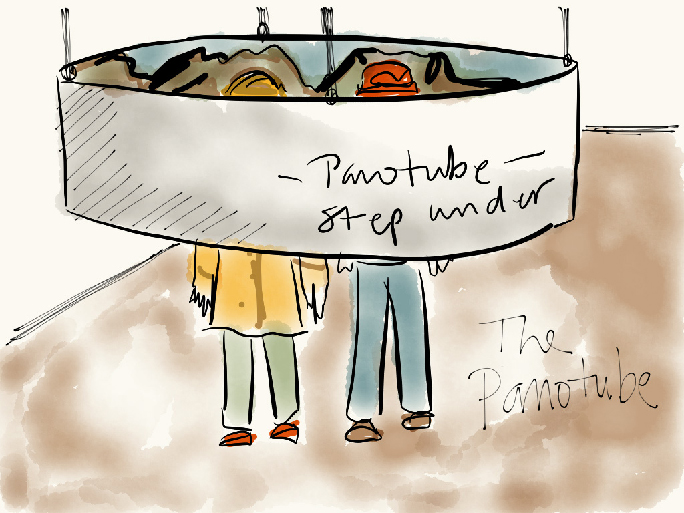Panotube sketch