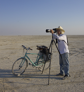 Brian with telephoto