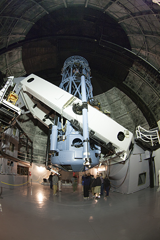 100-inch telescope interior 13