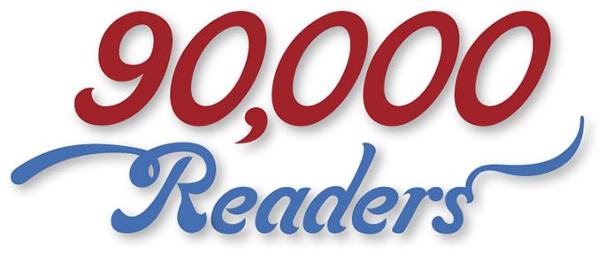 90000 readers