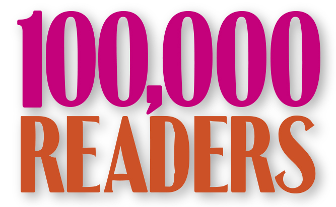 100,000 Readers head