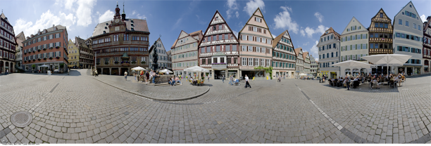 Turbingen City panoramic