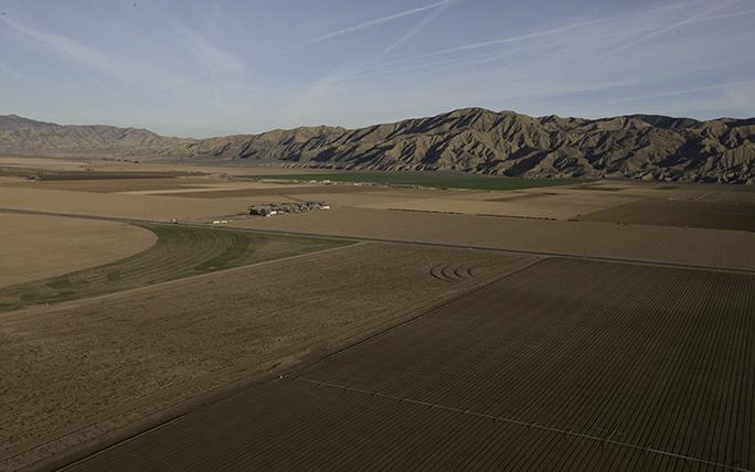 Cuyama Valley aerial