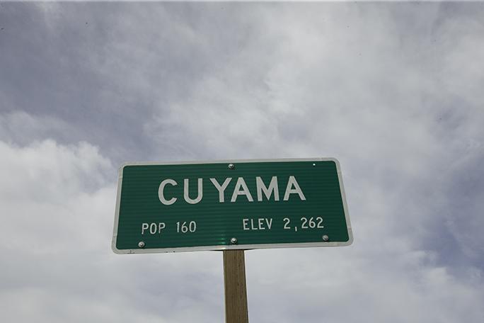 Cuyama sign