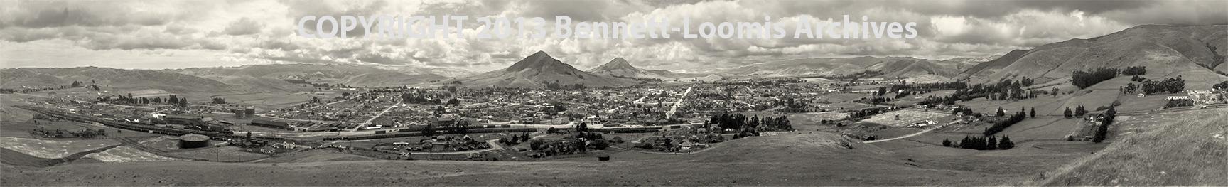 San Luis Obispo from Terrace Hill